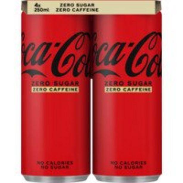 Coca-Cola Caffeine free zero offre à 2,59€