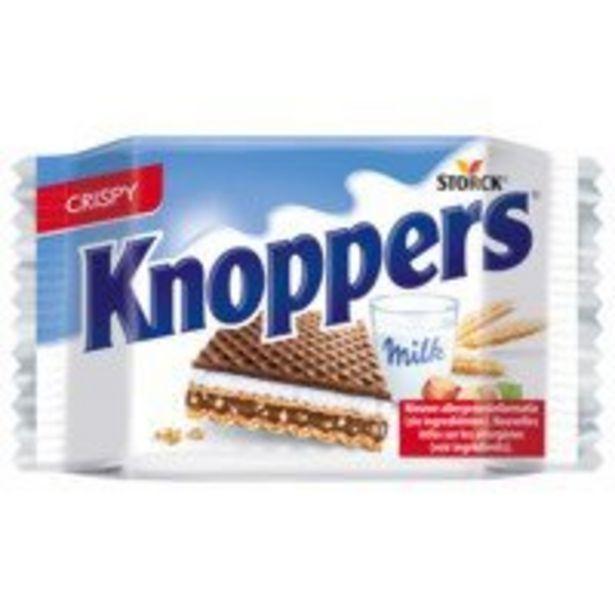 Knoppers Melk hazelnootwafel offre à 1,49€
