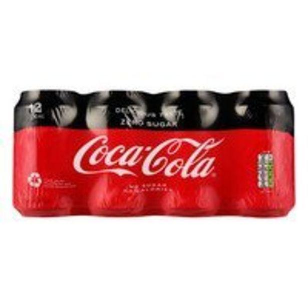 Coca-Cola Zero 12pack offre à 7,75€