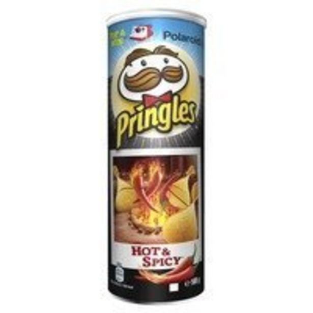 Pringles Hot & spicy offre à 1,79€