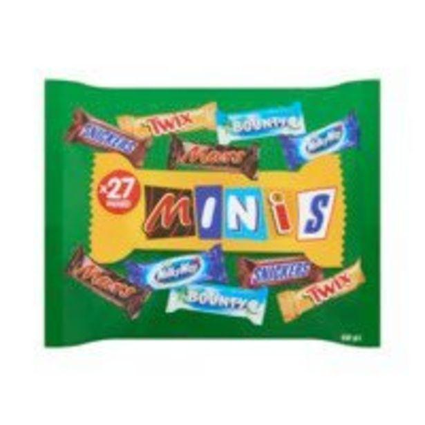 Mars Mini's chocolade mix uitdeelzak offre à 3,49€