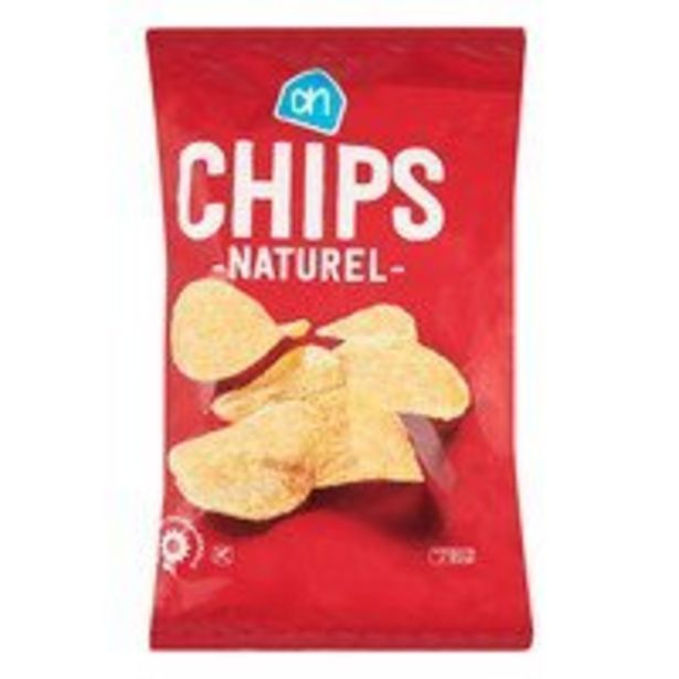AH Chips naturel offre à 0,69€