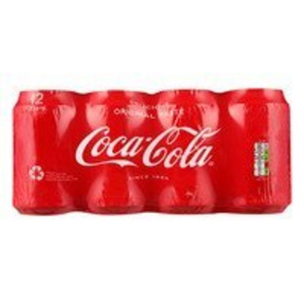 Coca-Cola Regular 12pack offre à 7,75€