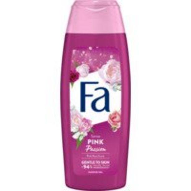Fa Douchegel pink passion offre à 1,69€