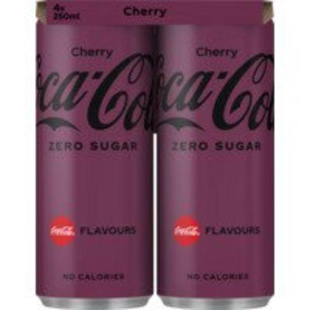 Coca-Cola Zero cherry offre à 2,59€
