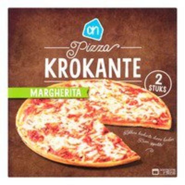 AH Krokante pizza Margherita offre à 1,79€