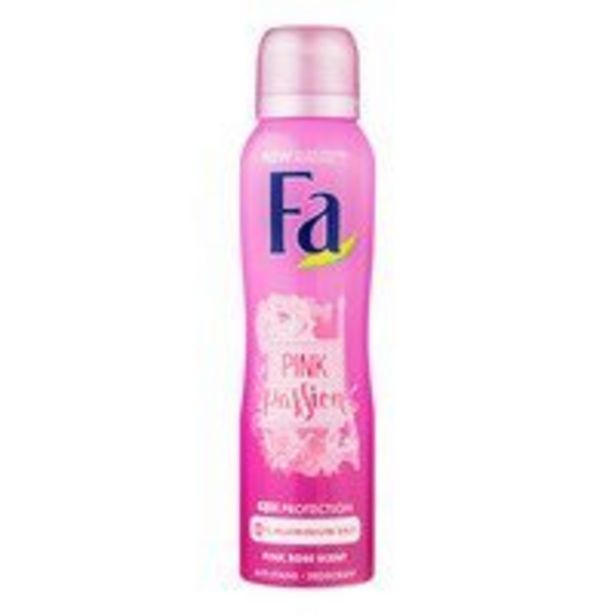 Fa Deospray pink passion offre à 2,19€