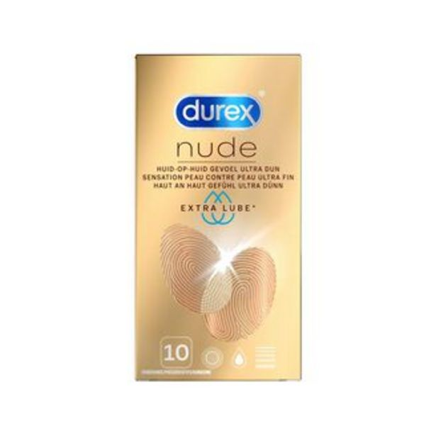 Nude Extra Lube - 10 pièces offre à 14,99€
