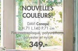 DAVI Canape offre à 349€