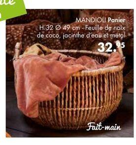 MANDIOLI panier offre à 32,95€
