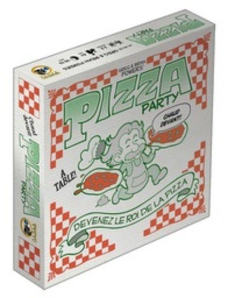 Pizza Party offre à 27,4€