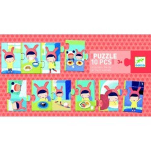 Puzzle la journée (Puzzles Duo-Trio Djeco) offre à 7,9€