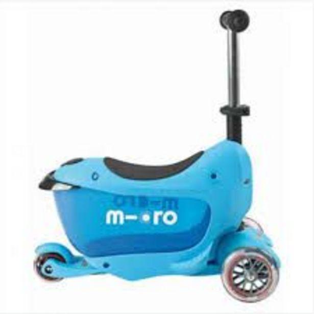 Trottinette Mini micro évolutive Bleue offre à 109,95€