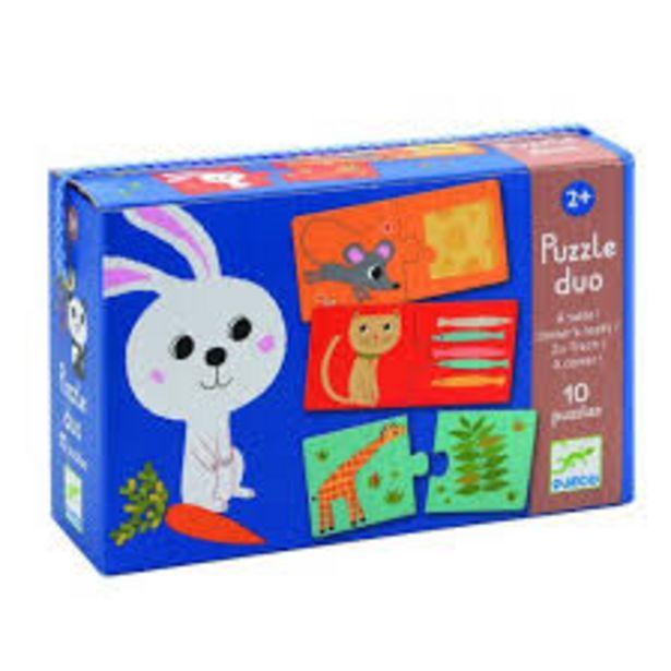 Puzzle duo maman et bébé (Puzzles Duo-Trio Djeco) offre à 8,5€