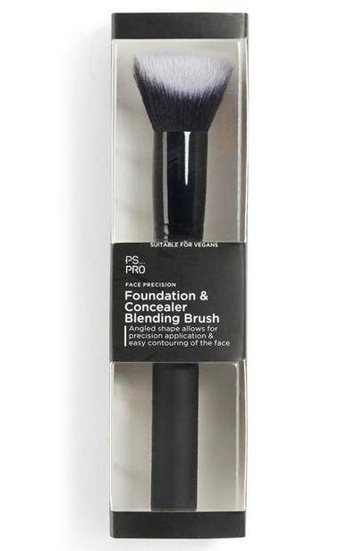 Pinceau mélangeur de précision fond de teint et correcteur pour le visage Ps Pro offre à 4€