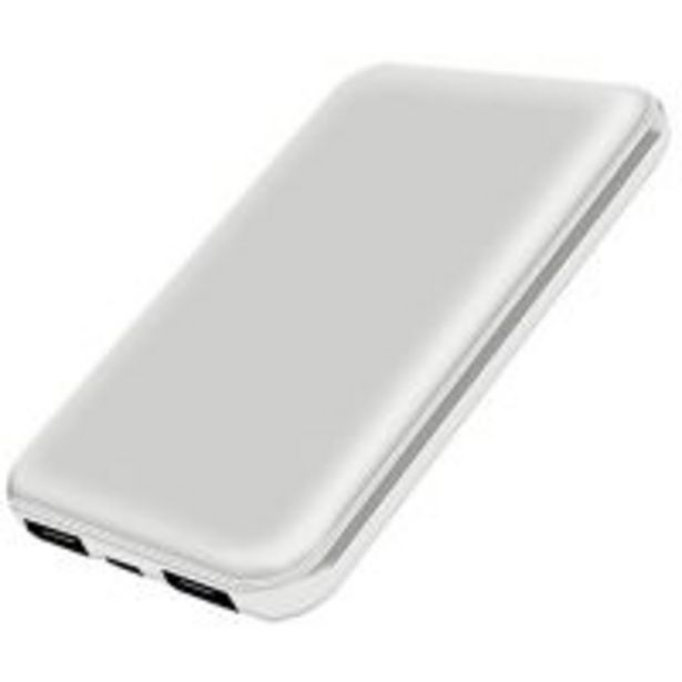 OnEarz Mobile Gear Powerbank 5000mAh Wit offre à 18,99€
